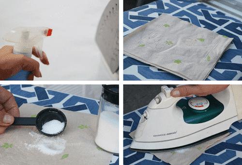 nettoyage au sel