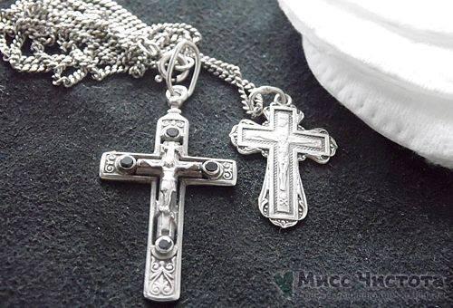 Comment nettoyer une croix en argent