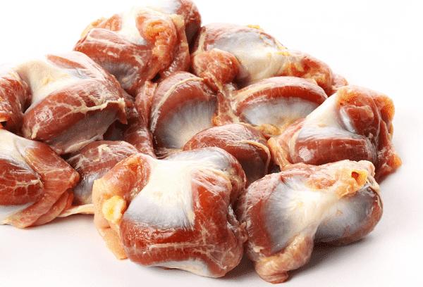estomacs de poulet