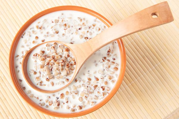 Bouillie de sarrasin au lait