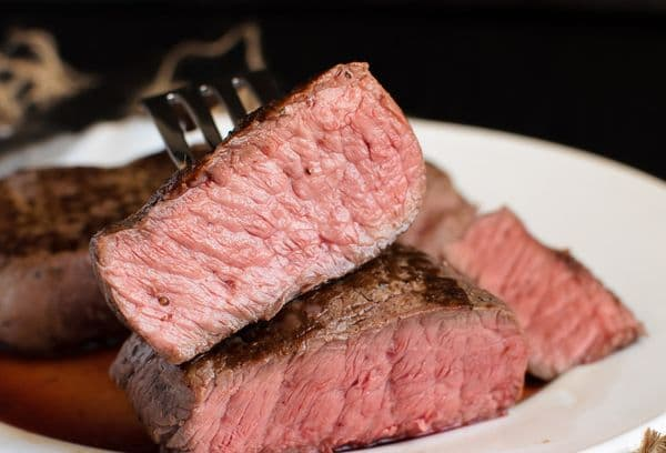 Steak de sang