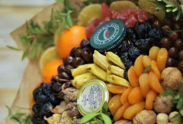 Bouquet de noix et fruits secs