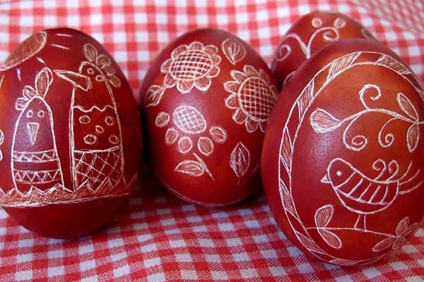Œufs de Pâques - tentures