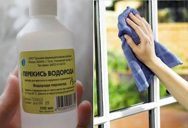 peroxyde pour le nettoyage