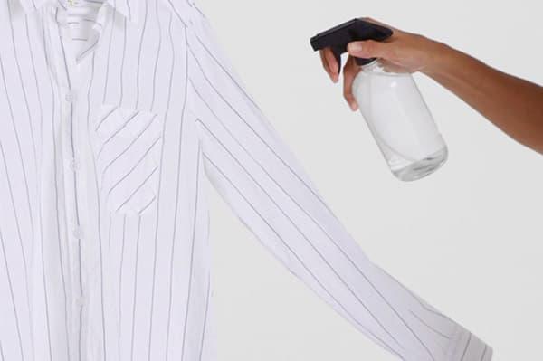 Bevochtiging spray shirt