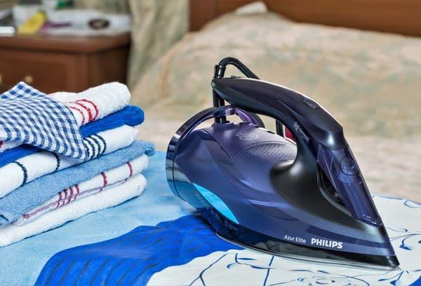 Gestreken handdoeken