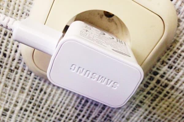 Chargeur Samsung en sortie
