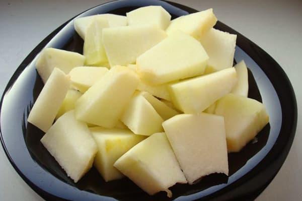 Melon haché
