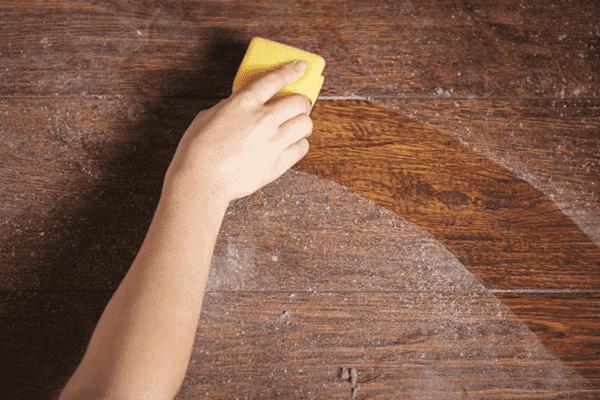 Nettoyage de la poussière