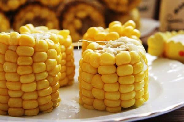 Maïs bouilli