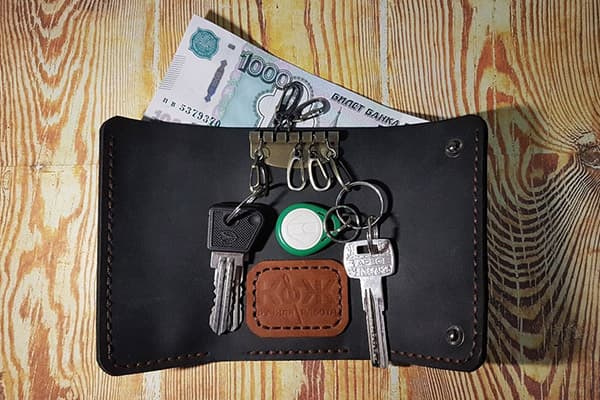Sleutels in de portefeuille