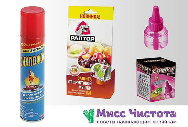 Les meilleurs produits de nettoyage domestique pour lutter contre les moucherons