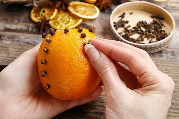 Saveur d'orange et de girofle