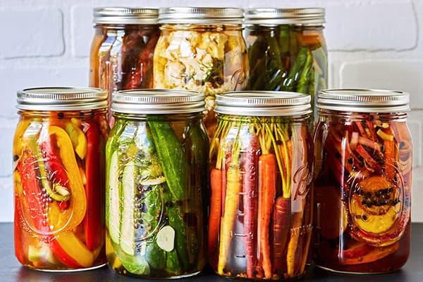 Légumes fermentés