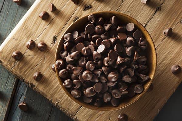Gouttes De Chocolat