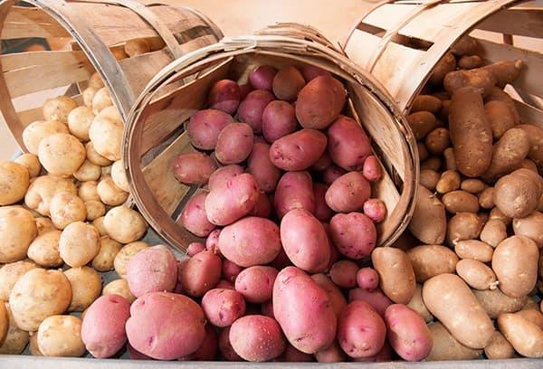 Aardappelen van hoge kwaliteit